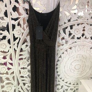 ZARA W&B midi dress